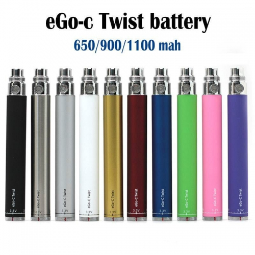 eGo-c Twist Cigarette Kit Variable Voltage Battery