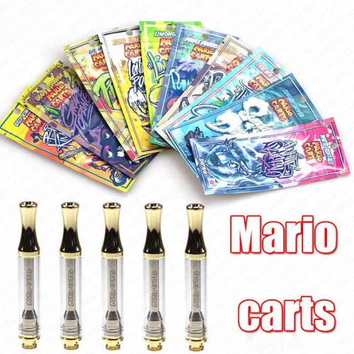 wholesale empty Mario Carts CBD Hemp Cartridge ikrusher ALD AC1003 Vapes Tank