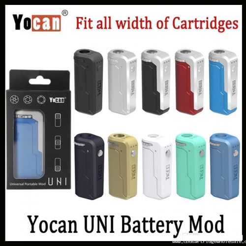 Yocan UNI Box Mod 650mAh 10s Preheat VV Variable Volta