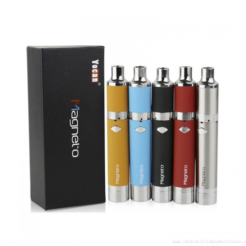 Yocan Magneto Starter Kits 1100mah Battery Wax Pen Dry Herb Magnetic